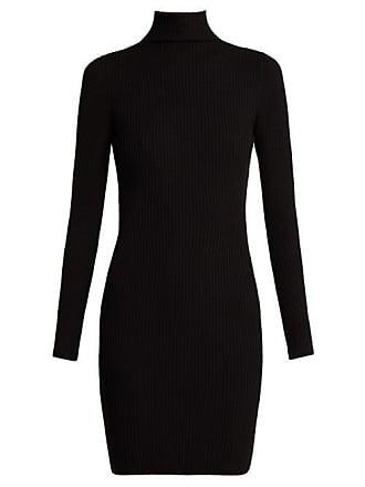 Wolford Rib Knitted High Neck Dress - Womens - Black