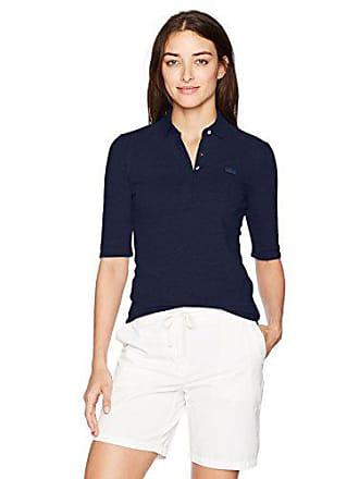 39625e8eb53a Lacoste Womens Classic Half Sleeve Slim Fit Stretch Pique Polo