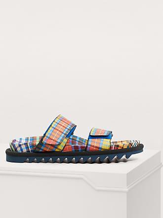 Dries Van Noten Madras sandals