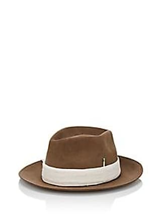 Nick Fouquet Mens Martime Fur Felt Fedora - Brown Size L e188929f11e