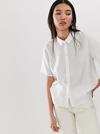 Selected Femme short sleeve shirt - White