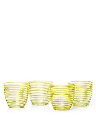 Yali Glass Set Of Four Goto Tumblers - Yellow