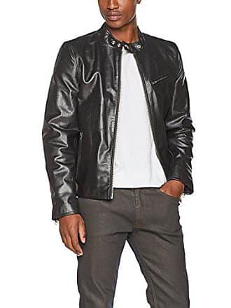 Schott NYC Schott - blouson - en cuir - homme - noir (black) - b04019906c3