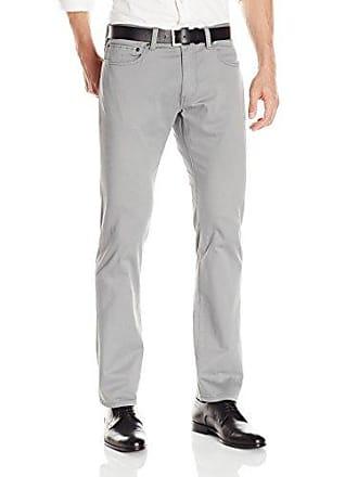 Dockers Mens Jean Cut Slim Fit Flat Front Pant, Gravel Sateen (Stretch), 36W x 34L
