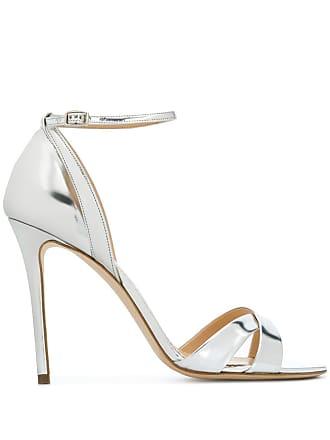 The Seller metallic stiletto sandals - Prateado