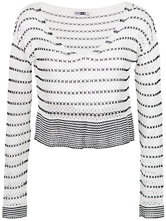 Pop Up Store Blusa de tricô bicolor - Preto