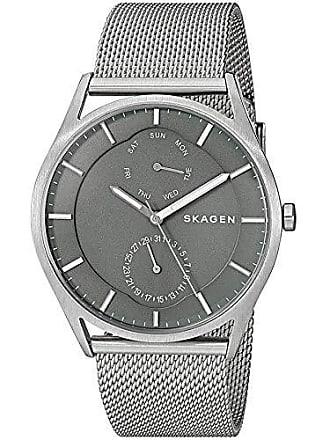 Skagen Relógio Skagen Masculino Ref: Skw6383/1kn Slim Multifunção Prateado
