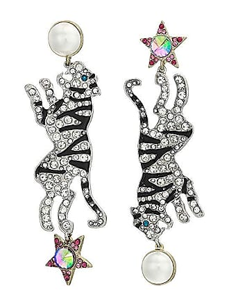 e1909c0fa4d6 Betsey Johnson Tiger Non-Matching Earrings (Pink) Earring