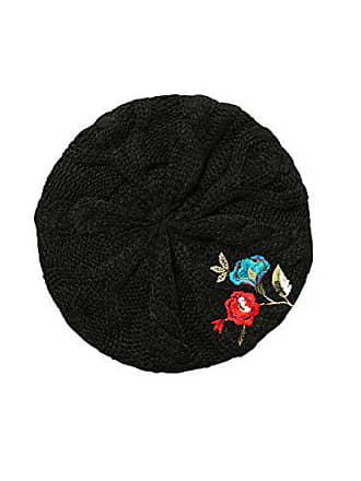 Desigual Hat Caribou, Béret Femme, Noir (Negro 2000), Unique (Taille  Fabricant a0e241cb176