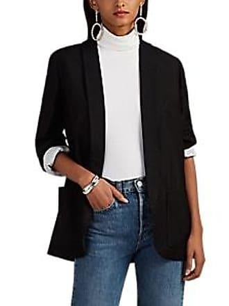 Zadig & Voltaire Womens Verdun Bright Metallic Blazer - Black Size 34 FR