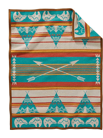 Pendleton Muchacho Baby Blanket - Star Guardian Turquoise