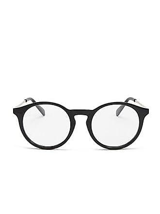 Forever 21 Forever 21 Contrast Round-Eye Readers Black/clear