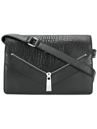a4891052b0be Diesel zip detail shoulder bag - Black
