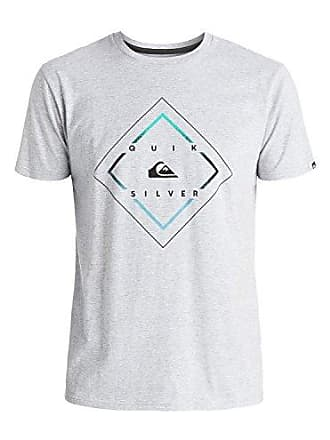 Quiksilver Mens D Day Mod T-Shirt, Athletic Heather, X-Large