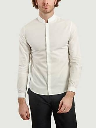 Éditions M.R Weißes Saint Honore Kragen Mao Shirt - 37