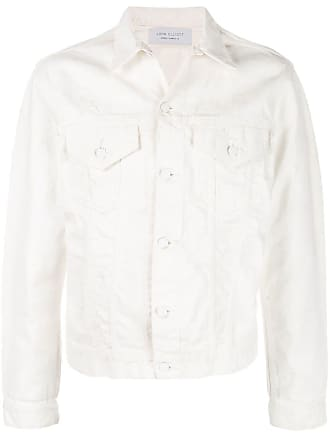 John Elliott + Co Jaqueta jeans clássica - Branco