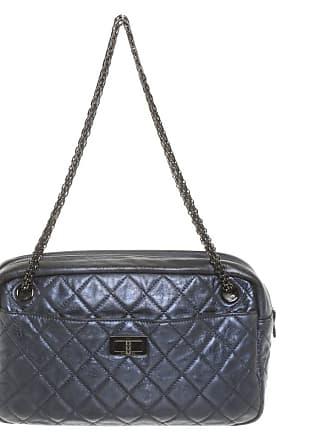 d1f31ae8a30f3 Chanel gebraucht - Handtasche aus Leder in Blau - Damen - Leder