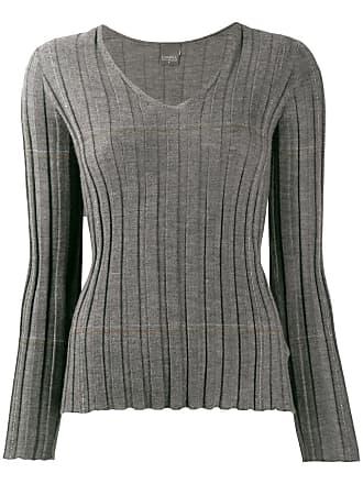 Lorena Antoniazzi v-neck cashmere sweater - Cinza