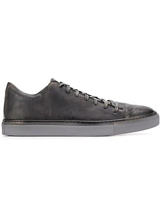 John Varvatos flat lace-up sneakers - Grey