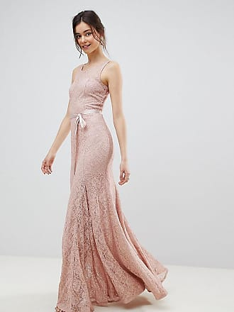 912ac96f9566 City Goddess Tall Lace Maxi Dress With Satin Belt