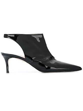 Christopher Kane Sapato de couro - Preto