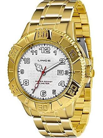 Lince Relógio Masculino Lince MRG4334L B2KX de Aço Dourado