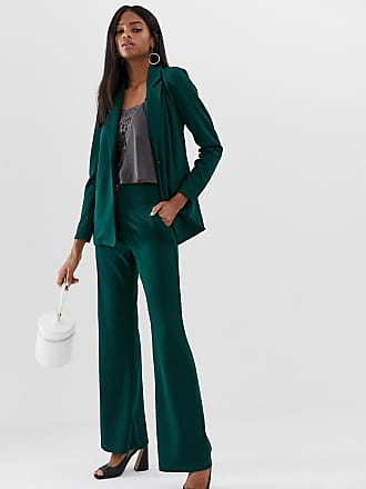 Y.A.S wide leg pants in green - Green