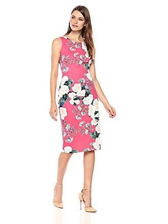 Ivanka Trump Womens Denim Starburst Dress, Vintage Rose, 12