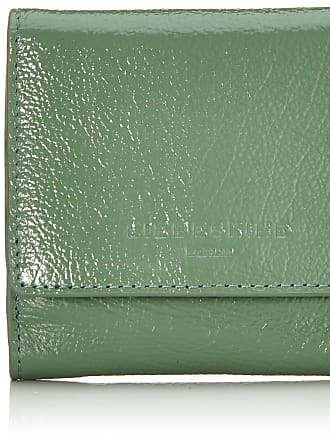 Liebeskind Glossy Slg Erica Wallet Small Womens Wallet, Green (Hedge Green), 2x9x10 centimeters (B x H x T)