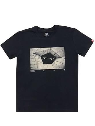 Element Camiseta Element Vortex Menino Preta