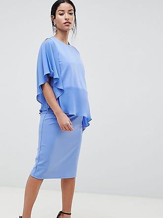 6d884d7914b Asos Maternity ASOS DESIGN Maternity Nursing one shoulder double layer dress