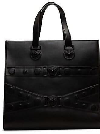 Versace Embossed Medusa Zip Tote Bag 77ff9a29f5dd1