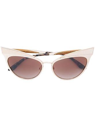 Dolce & Gabbana Eyewear Óculos de sol gatinho - Amarelo