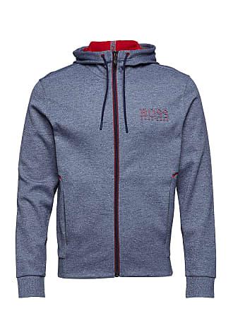 125cc52b773e HUGO BOSS Saggy Sweat-shirts & Hoodies Zip Throughs Blå BOSS ATHLEISURE WEAR