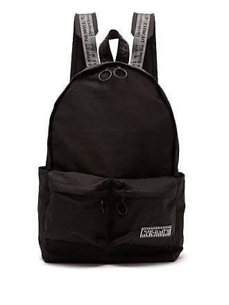 Off-white Off-white - Patch Logo Backpack - Mens - Black White
