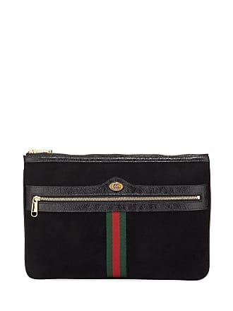 f0ffc917ff7aa1 Gucci Ophidia Large Suede Clutch Bag