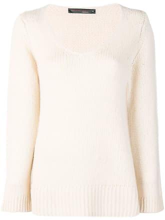 Incentive! Cashmere V-neck sweater - Neutro