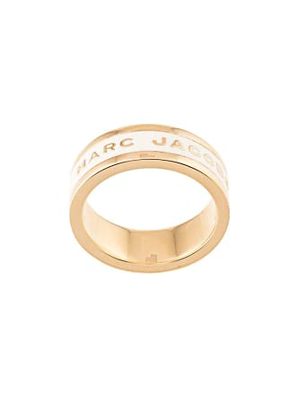 Marc Jacobs logo band ring - Gold