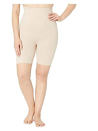 ee919d083 Miraclesuit Shapewear Plus Size Extra Firm Control High-Waist Thigh Slimmer  (Nude) Womens