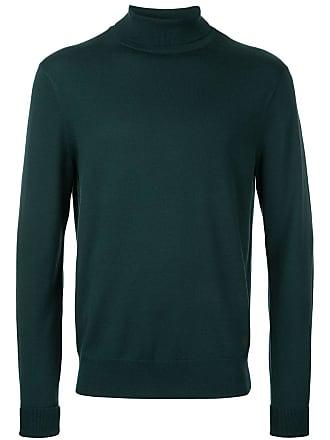 Kent & Curwen roll neck jumper - Green