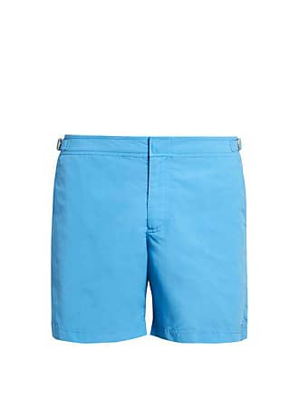 b89d8876f4 Orlebar Brown Bulldog Mid Length Swim Shorts - Mens - Light Blue