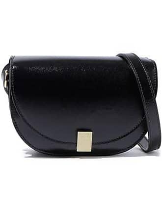 72f822e2b47c Victoria Beckham Victoria Beckham Woman Half Moon Box Nano Leather Shoulder  Bag Black Size