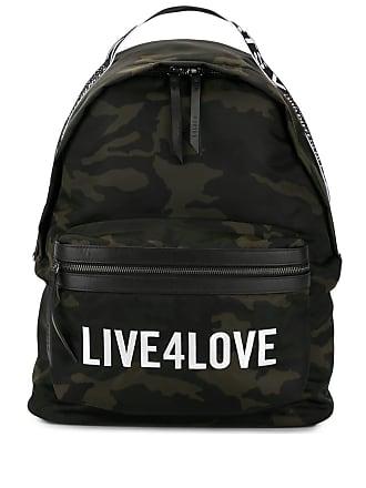 Ports V Mochila Live 4 Love com estampa camuflada - Verde