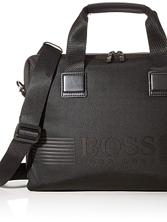 BOSS Pixel_single Doc Cas, Mens Bag, Black, 8x29x38 cm (B x H T)