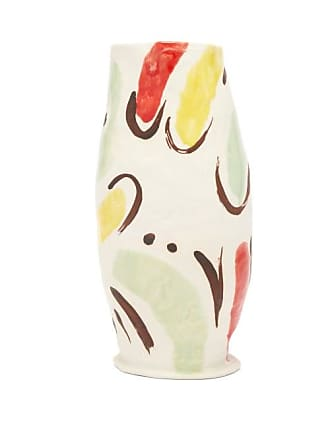 Jessica Hans Soft Melting Abstract-pattern Vase - White Multi