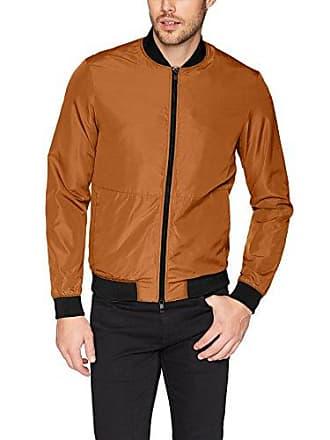 J.Lindeberg Mens Nylon Bomber Jacket, Glazed Ginger X-Large