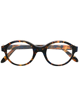 Emmanuelle Khanh round frame glasses - Marrom