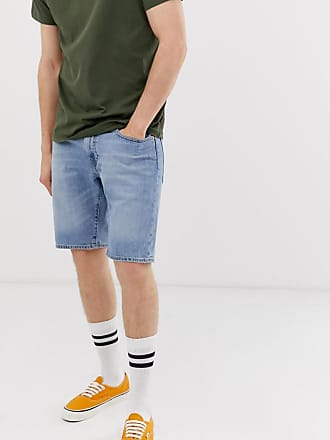 NUOVA linea uomo Superdry International pantaloni corti chino Lavare