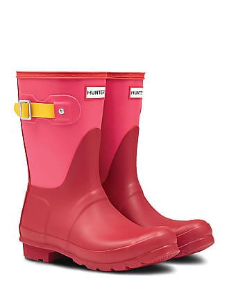 3fb4a594e Delivery: free. Hunter Original Short Colorblock Waterproof Rain Boot