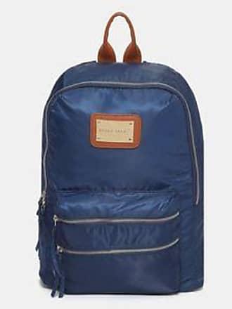 Perry Ellis Backpack con Logo Grabado Sobre Placa<br>31 x 38 x 16 cm<br>Azul